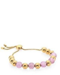 Michael Kors Michl Kors Summer Rush Amethyst Beaded Slider Bracelet