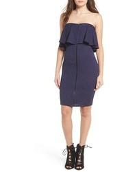 Leith Strapless Body Con Dress