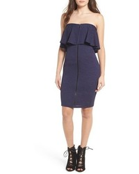Leith Strapless Body Con Dress