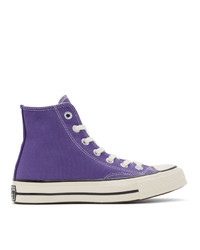 Converse Purple Chuck 70 High Sneakers