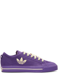 Purple adidas edition matrix spirit low sneakers medium 834819