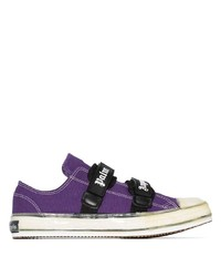 Palm Angels Vulcanized Touch Strap Sneakers