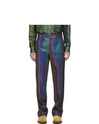 Sies Marjan Purple Toby Reflective Trousers