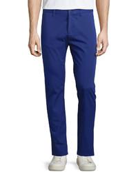 Uomo slim fit pants purple medium 578204