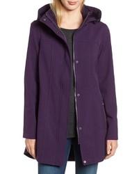 Kristen Blake Hooded Soft Shell Jacket