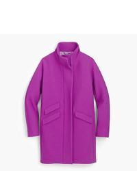 Petite cocoon coat in italian stadium cloth wool medium 5310860