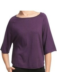 Violet Crew-neck Sweater