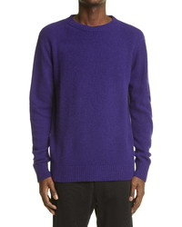 The Elder Statesman Cashmere Crewneck Sweater
