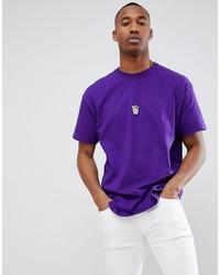 Violet Crew-neck T-shirt