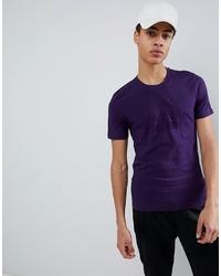 Love Moschino Embossed Logo T Shirt