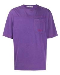 Acne Studios Logo Print T Shirt