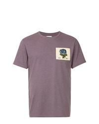 Kent & Curwen Rose Patch T Shirt