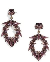 BaubleBar Nevh Crystal Drop Earrings