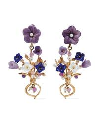 Of Rare Origin Bundle Gold Vermeil Multi Stone Earrings