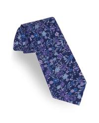 Ted Baker London Floral Linen Tie