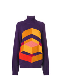 Bottega Veneta Geometric Intarsia Sweater