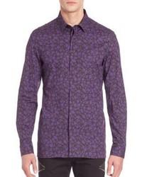 Versace Collection Geometric Pattern Shirt