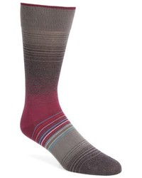 Bugatchi Ombre Stripes Crew Socks