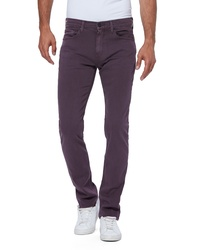 Paige Transcend Federal Slim Fit Straight Leg Jeans