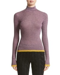 Missoni Metallic Knit Turtleneck