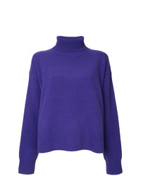 Le Ciel Bleu Turtle Neck Knit Jumper