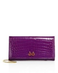 Ethan k mrs baker crocodile clutch medium 3649368