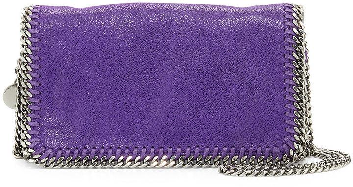 7fda291a3f ... Stella McCartney Falabella Crossbody Bag Bright Purple ...