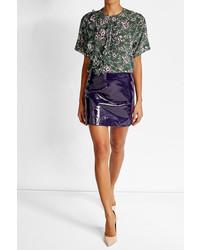 Patent leather mini skirt medium 3646507