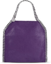 Stella McCartney Falabella Mini Tote Bag Purple