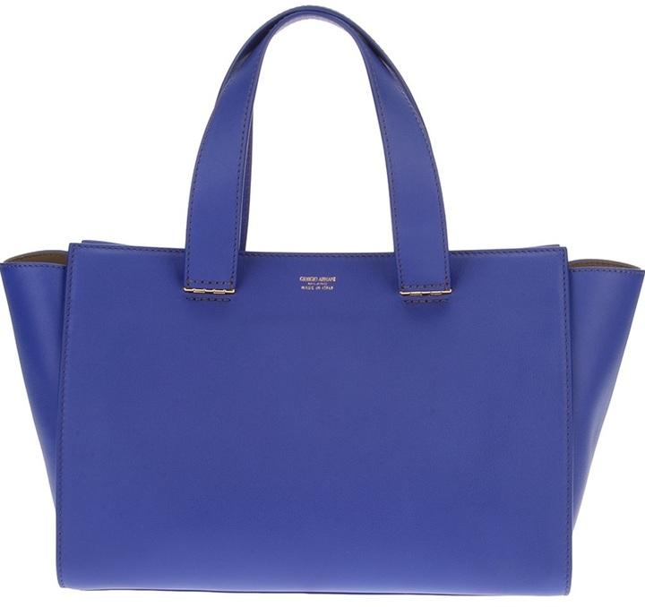 f8a9dade9b3e ... Bags Giorgio Armani Small Shopper Tote