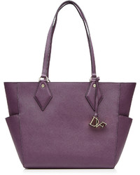 Leather tote medium 528179