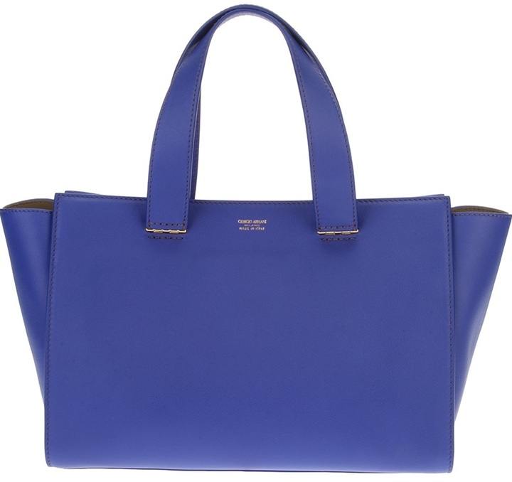 Giorgio Armani Small Shopper Tote