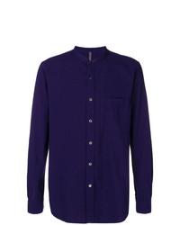 Attachment Mandarin Collar Shirt