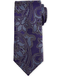 Violet Paisley Tie