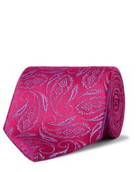 Charvet 85cm Paisley Silk Jacquard Tie