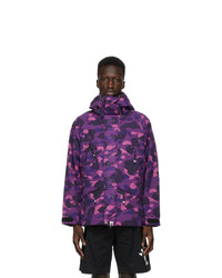 BAPE Purple Camo Snowboard Jacket