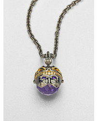 Stephen Webster Gemini Astro Crystal Ball Pendant Necklace