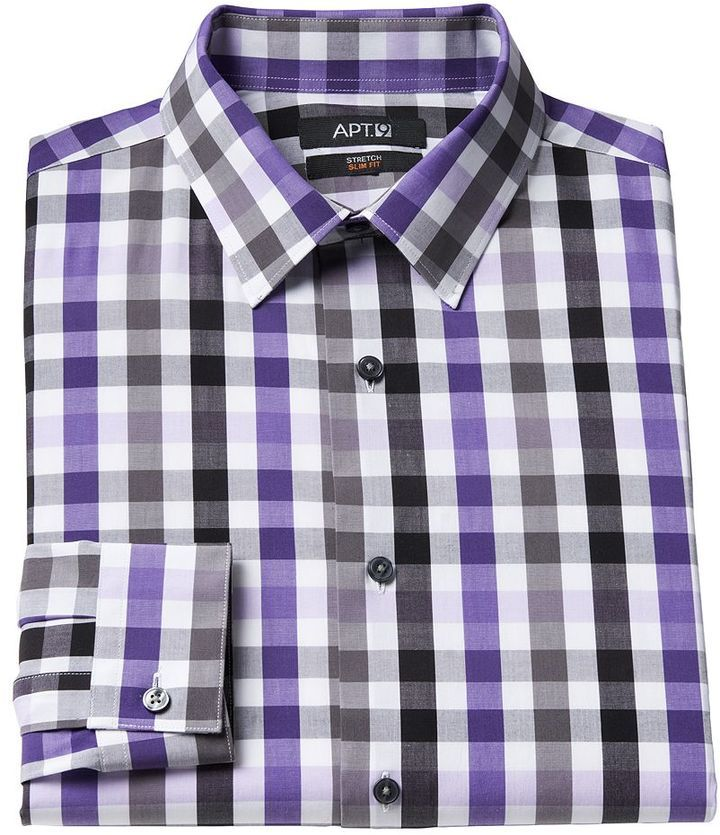 Apt 9 long sleeve dress shirt sleeve