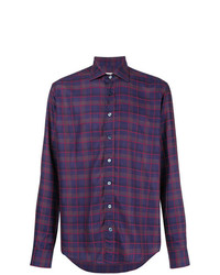 Etro Check Long Sleeve Shirt