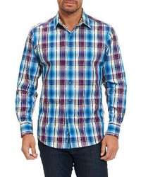 Robert Graham Hiran Plaid Sport Shirt