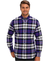 U.S. Polo Assn. Plaid Oxford Button Down Collar Shirt