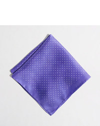 J.Crew Factory Factory Silk Pindot Pocket Square