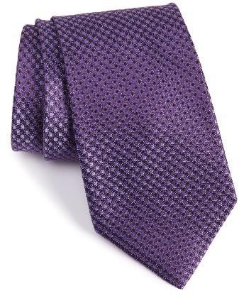 Nordstrom Shop Dotted Silk Tie