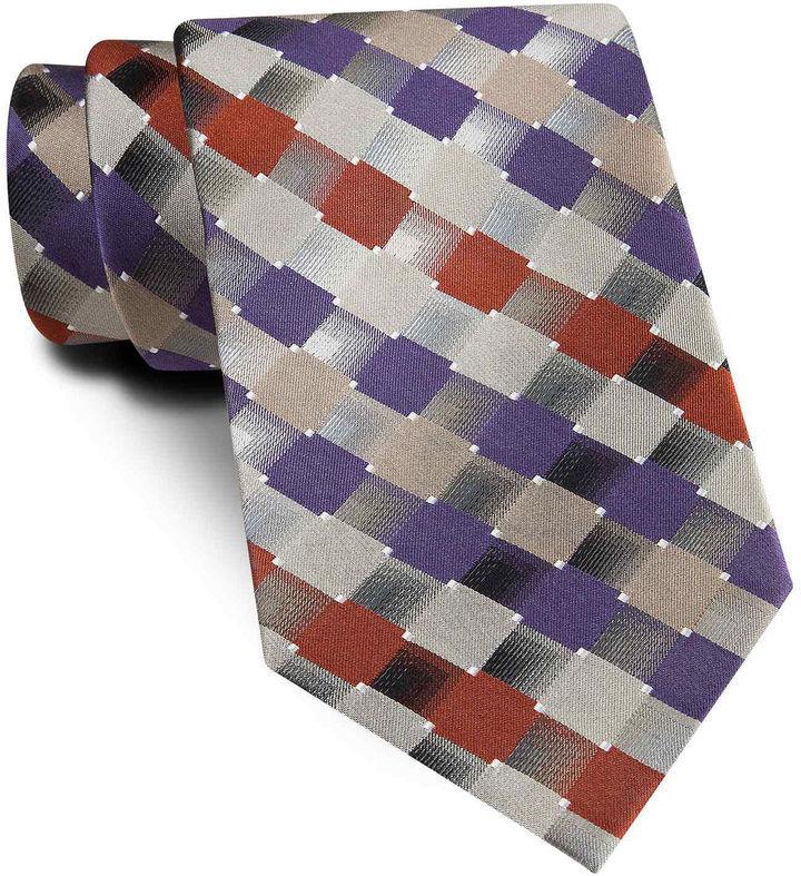 Van Heusen Geo Dot Silk Tie