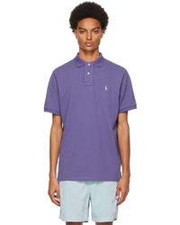 Polo Ralph Lauren Purple Classic Fit The Iconic Polo