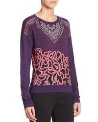 Etro Printed Jersey Sweater