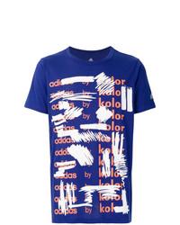Adidas By Kolor Graphic Print T Shirt