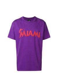 Marcelo Burlon County of Milan Miami Marlins T Shirt