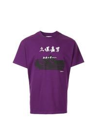 Yoshiokubo Printed Round Neck T Shirt