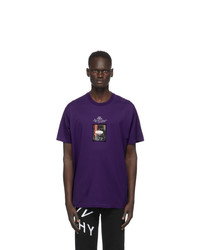 Givenchy Purple Homme T Shirt